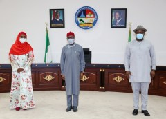 Buhari Commiserates with victims of Delta Fire Incident