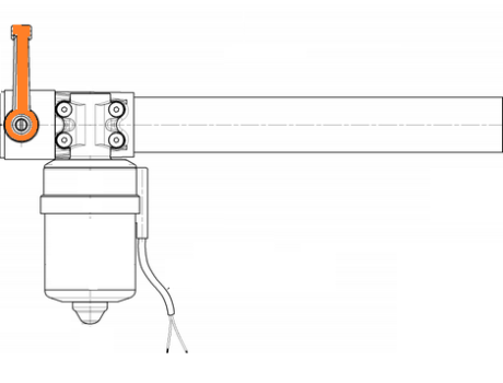 Linear Actuator with mechanical stem release