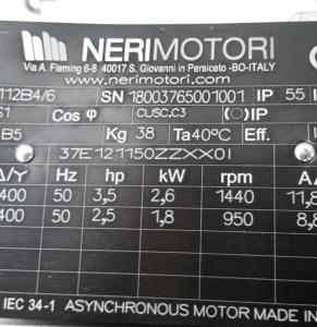 Targhetta motore elettrico: come leggerne i dati?