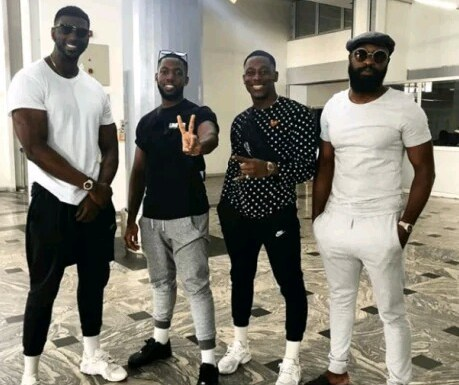 Kupe Boys Arrive Nigeria For A Show In Abuja