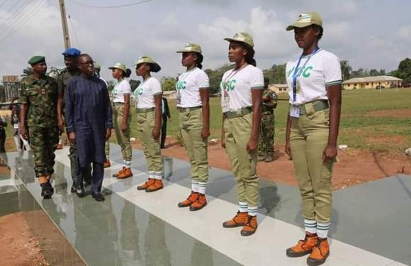 "Delta State Governor Promises To Transform ""Below Standard"" NYSC Camp (Details)"