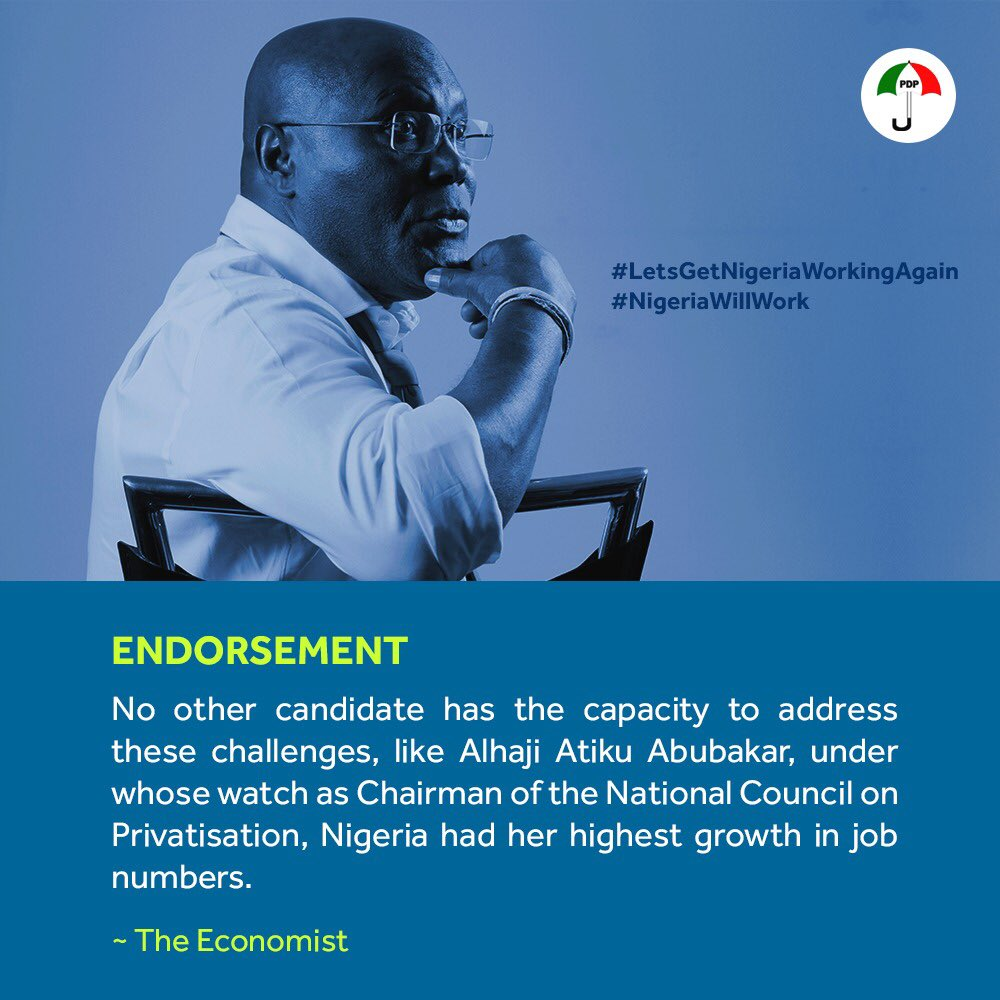 Atiku Starts Campaign on Monday, to Launch Policy Document 1