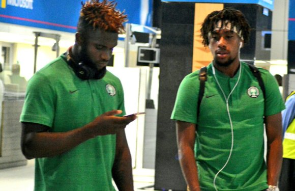 Super Eagles Arriving South Africa (Photos)