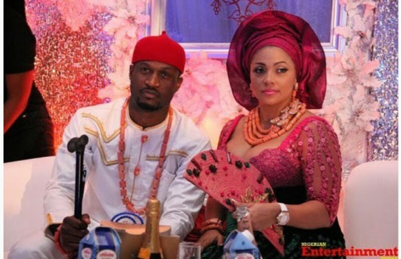 'I'm The Gold Digger Here': Peter Okoye & Wife Lola Celebrate 5th Wedding Anniversary