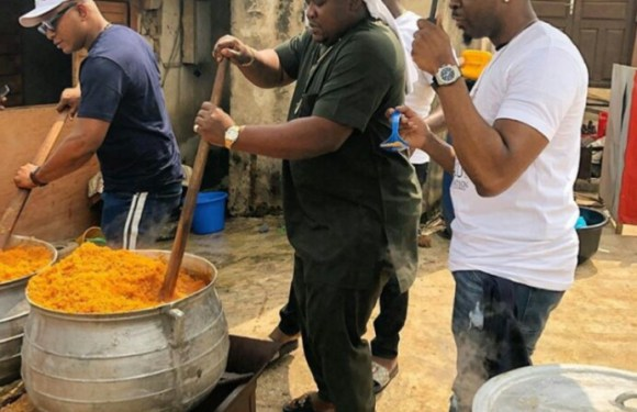 Imo Millionaire, Cubana Chiefpriest & Pretty Mike Show Off Their Cooking Skills