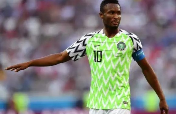 Super Eagles Captain, Mikel Obi Rules Out Retirement From National Team
