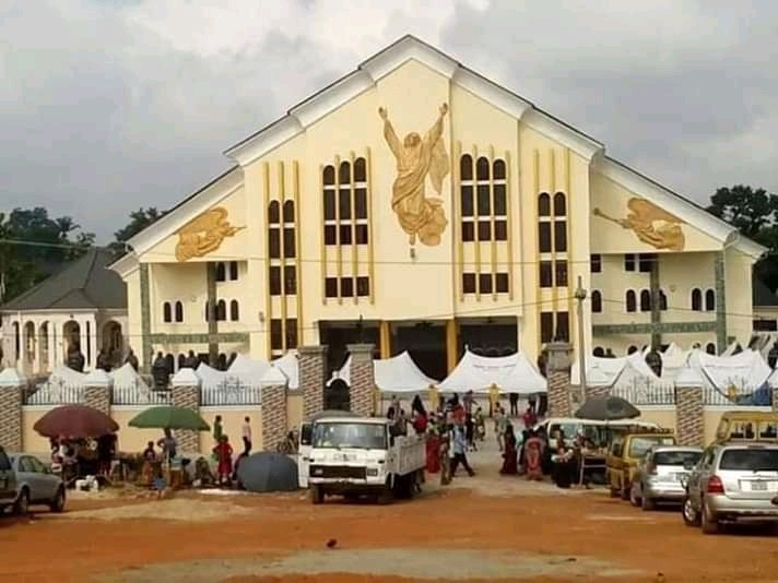 See Photos Of Church Built By Peter Obi Single-handedly 1