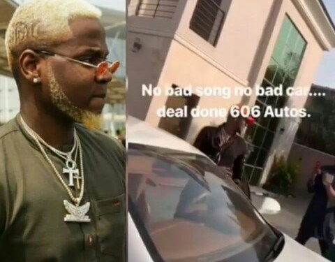 Kiss Daniel Buys Himself A Bentley, Months After Buying A Mansion