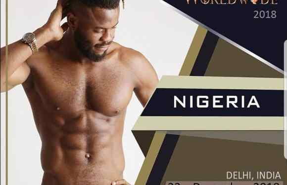 See The Nigerian Footballer Contesting For Mister Model Worldwide 2018 In India