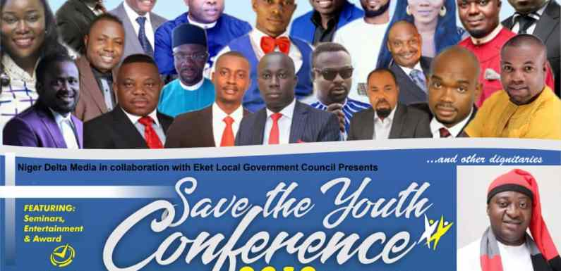 Save The Youths Conference is here again (#STY_Conference2019)