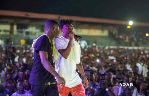 Small Doctor Shuts Down Agege Stadium With Omo Better Concert (Photos)