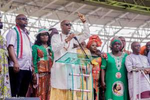 Oyedepo, Enenche, Nathaniel Bassey At PDP Victory Thanksgiving Service In Uyo 2
