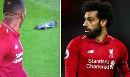 Mohamed Salah Kills Pigeon In 5-0 Huddersfield Win, Liverpool Fans React(Photos)