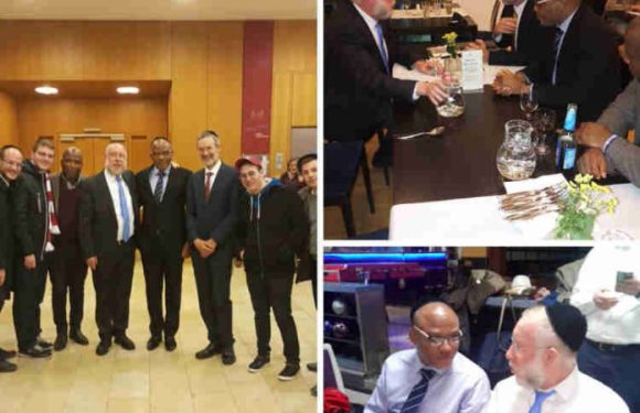 Biafra: Nnamdi Kanu Thanks Chief Rabbi Of Munich For Hosting IPOB