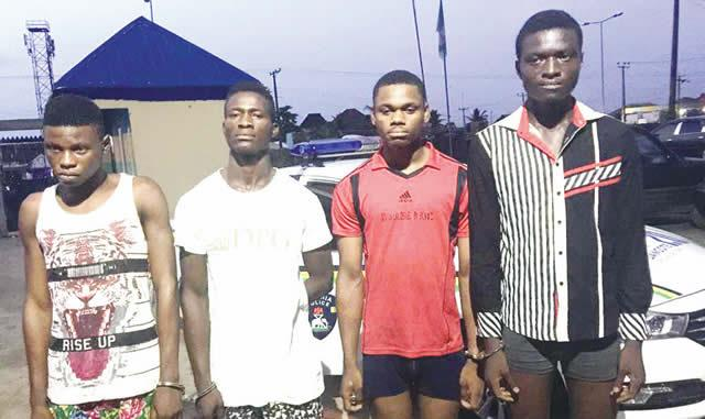 Command arrests four suspected cultists in Rivers, recovers arm 1