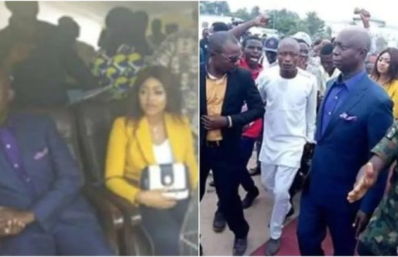 Actress Regina Daniels and billionaire Ned Nwoko seen together in public for the first time (photos)