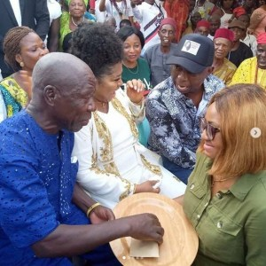 2 days after induction into Womanhood, Ned Nwoko marries Regina Daniels (photos) 3