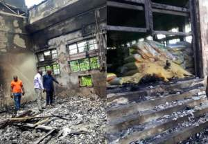Thieves accidentally set Cross River SEMA office on fire while attempting to steal relief materials