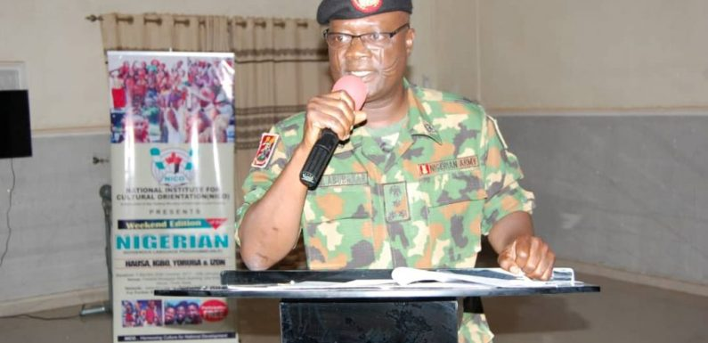 Nigerian Army adopts Yoruba, Igbo, Hausa languages in tackling insecurity