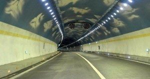 China Opens World's Highest Motorway Tunnel