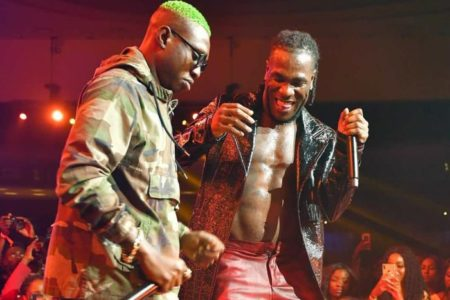 Burna Boy cries out to EFCC to release Zlatan Ibile for his show