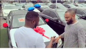 MC Galaxy Buys Tspize A Benz For Producing Sekem For Him 5 Years Ago