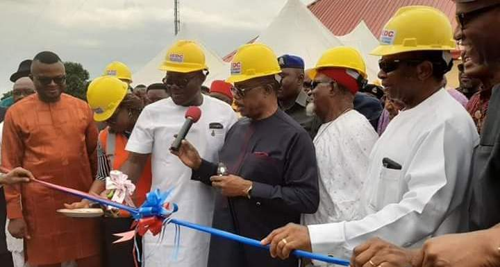 Gov. Obiano Commissions ABS Newly Injection Power Substation (Photos)