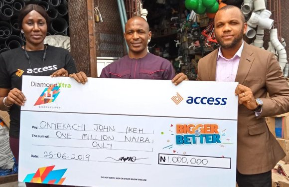 Businessman, 9 others win big in Access Bank's DiamondXtra Season 11 monthly draw
