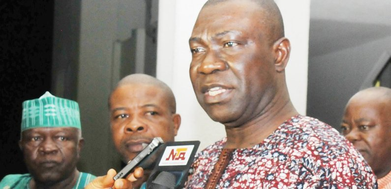 Omo-Agege: 'It's embarrassing to elect thug who stole mace as Deputy Senate President' – Ekweremadu