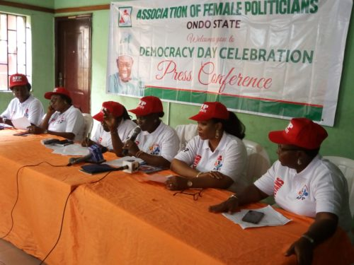 Ondo female politicians cry for justice, demand deputy governorship slot