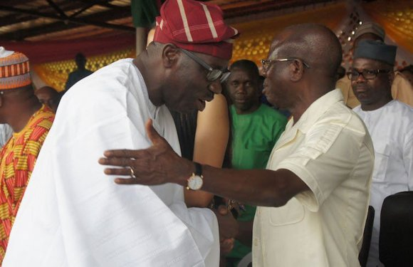 Obaseki reveals he has settled differences with Oshiomhole