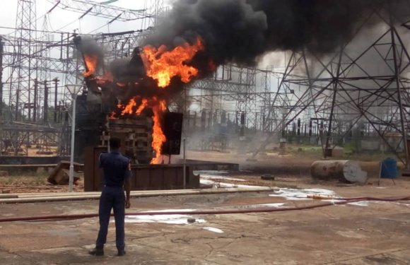 TCN announces collapse of national grid, cause of Benin station fire