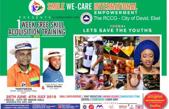 Let's Save the Youths: 'Smile we Care' continues empowering youths (pictures)