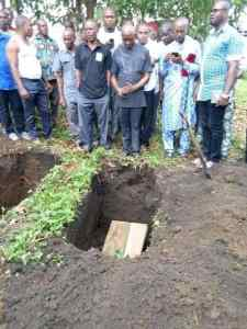 Abia Commissioner Buries Two Children Same Day, Wife Still In Mortuary