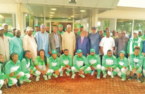 12th African Games: What Buhari told Team Nigeria