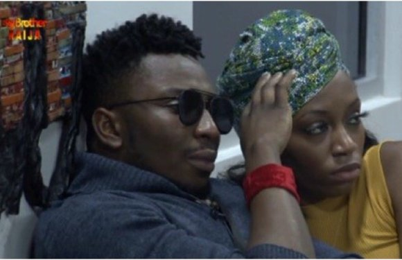 BBNaija: Sir Dee breaks down in tears for failing to save other housemates from eviction [VIDEO]