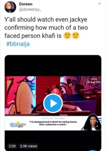 BBNaija: The Moment Khafi And Frodd Clashed, Mikes Expression Got Fans Talking