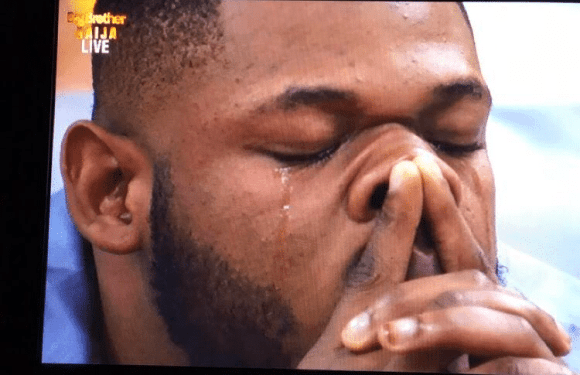 BBNaija: Nigerians react as Frodd shed tears over Esther's eviction [VIDEO]