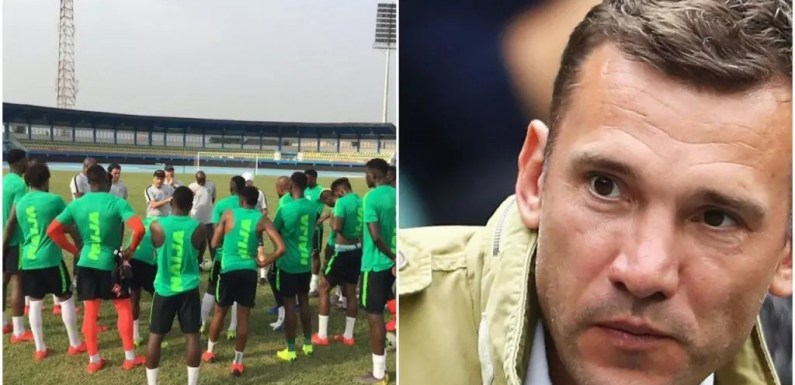 Ukraine vs Nigeria: Shevchenko singles out five Super Eagles players