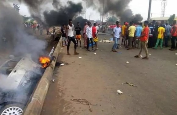 Four children crushed to death in Benin, driver flees