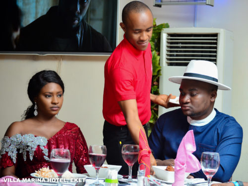Villa Marina Hotel celebrates with one of the Latest Couples in Akwa Ibom (Pictures)