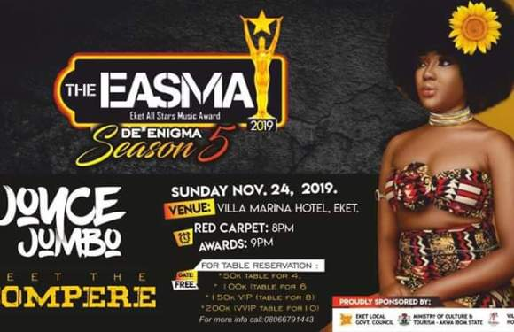 Akwa Ibom agog for Xmas season as #EASMA celebrates Eket's finest talents