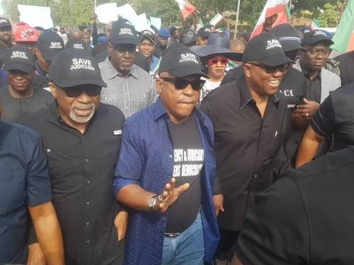 'PDP's Protest, Coup Attempt Against Buhari' – Governor Uzodinma