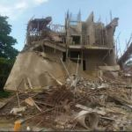 Enugu: Three-storey building marked for demolition collapses