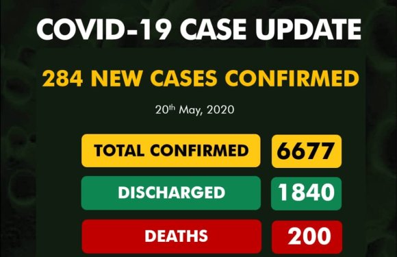 26 new cases in Rivers State as Nigeria's COVID-19 death toll hits 200