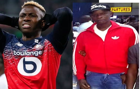 Lille, NFF condoles with  Victor Osimhen as Player loses father