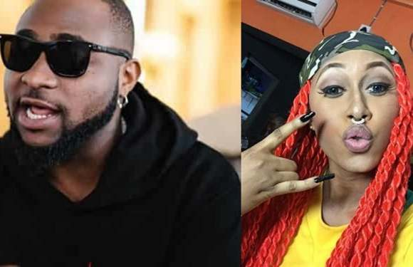 Cynthia Morgan: Davido clarifies comment on singer amid backlash from Nigerians
