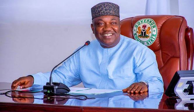 Enugu workers pay Thank-you visit to Ugwuanyi over construction of secretariats for NLC, TUC
