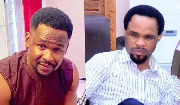 Odumeje: Don't be stupid, he is not my Pastor, he is my guy – Nollywood Actor, Zubby Michael attacks popular Instagram blogger, Tunde Ednut