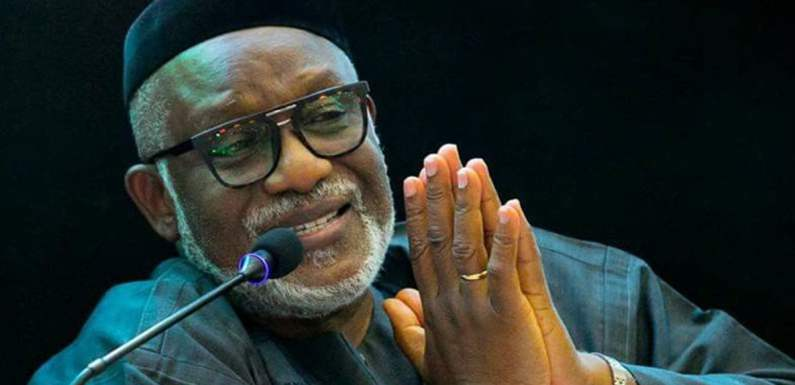 Independence Day: Nigeria will overcome her challenges – Akeredolu